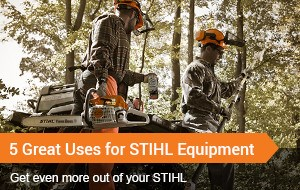 5 Great Uses for STIHL Equipment